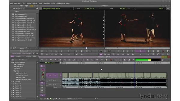 Manipulating the Timeline directly: Avid Media Composer 7 Essential Training
