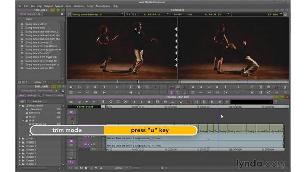 Understanding trimming: Avid Media Composer 7 Essential Training