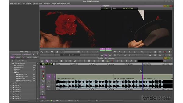 Performing single-roller trims: Avid Media Composer 7 Essential Training