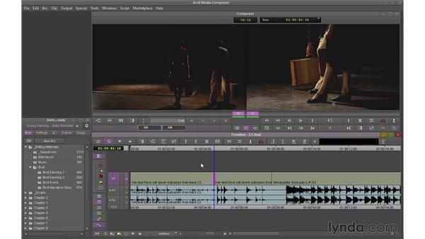 Performing dual-roller trims: Avid Media Composer 7 Essential Training
