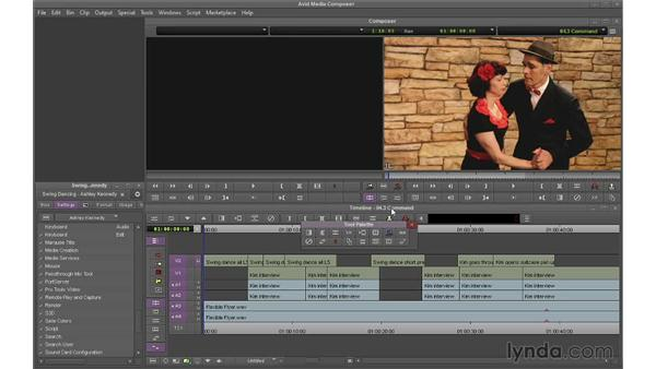 Using the Command palette: Avid Media Composer 7 Essential Training