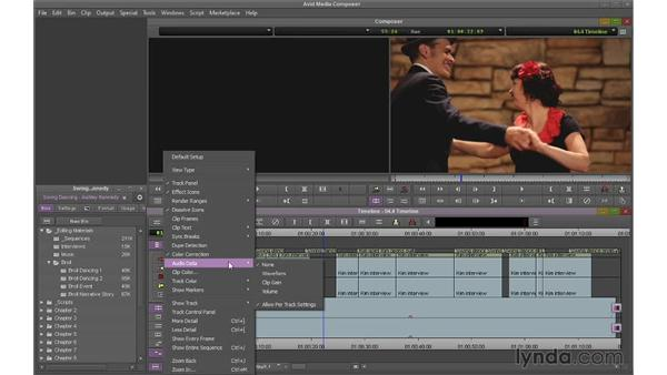 Customizing the Timeline: Avid Media Composer 7 Essential Training