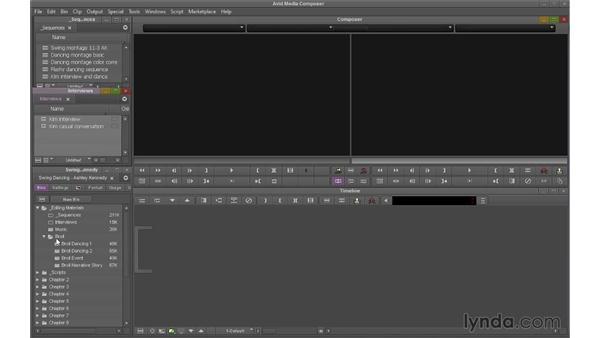 Using bin layouts: Avid Media Composer 7 Essential Training