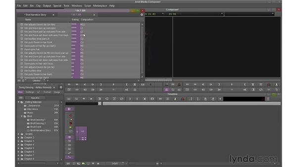 Sorting and sifting clips: Avid Media Composer 7 Essential Training