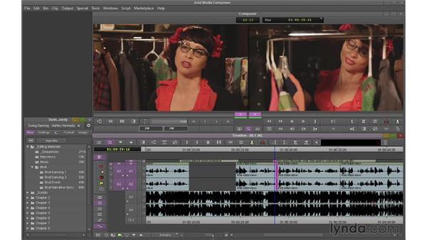 Trimming with JKL: Avid Media Composer 7 Essential Training