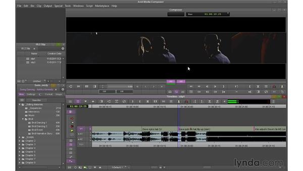 Performing Slip edits: Avid Media Composer 7 Essential Training