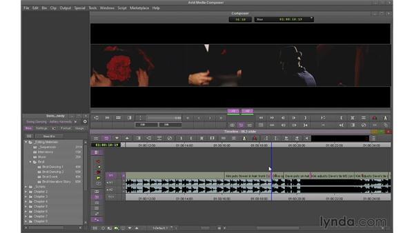 Performing Slide edits: Avid Media Composer 7 Essential Training