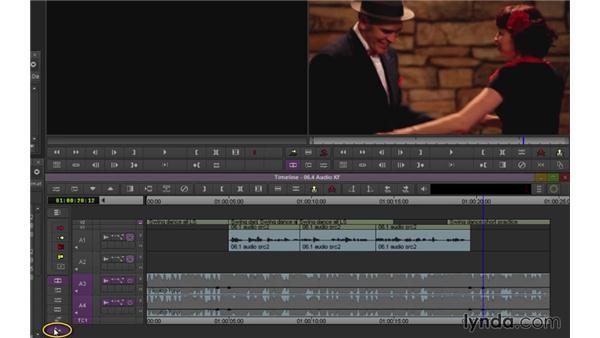 Keyframing audio (NEW): Avid Media Composer 7 Essential Training