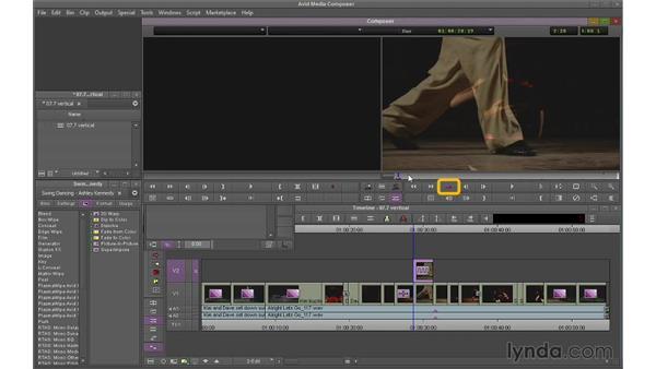 Building basic composites using vertical effects: Avid Media Composer 7 Essential Training