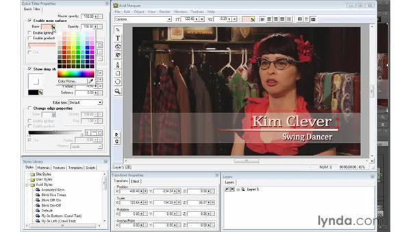 Revising the title: Avid Media Composer 7 Essential Training