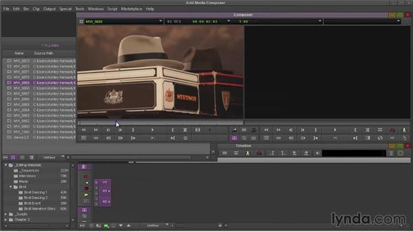 Linking to files using Avid Media Access (AMA) (NEW): Avid Media Composer 7 Essential Training