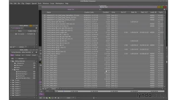 Deleting unreferenced clips: Avid Media Composer 7 Essential Training