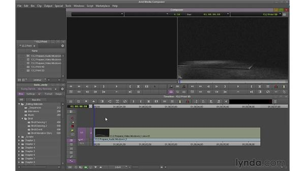 Performing a digital cut: Avid Media Composer 7 Essential Training