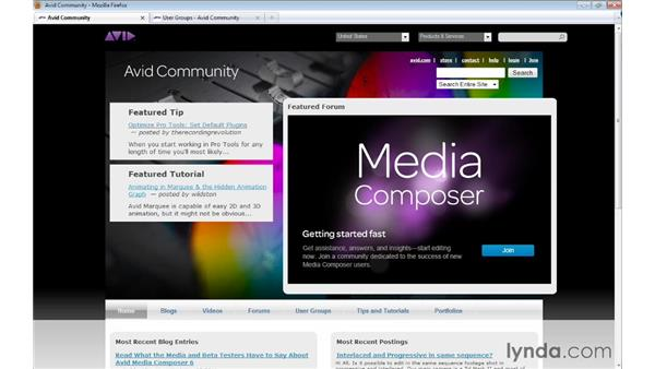 Additional resources: Avid Media Composer 7 Essential Training