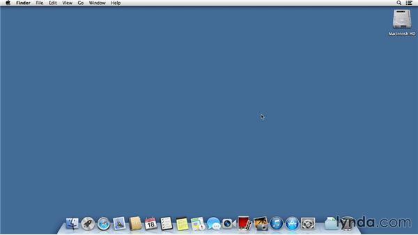 Using the exercise files: Mac OS X Mavericks Essential Training