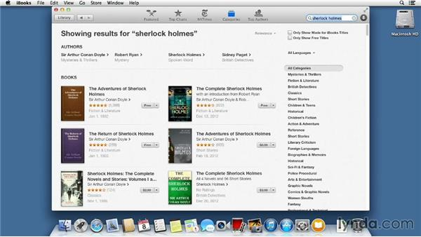 iBooks: Mac OS X Mavericks Essential Training