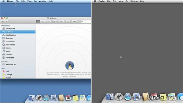 AirDrop: Mac OS X Mavericks Essential Training