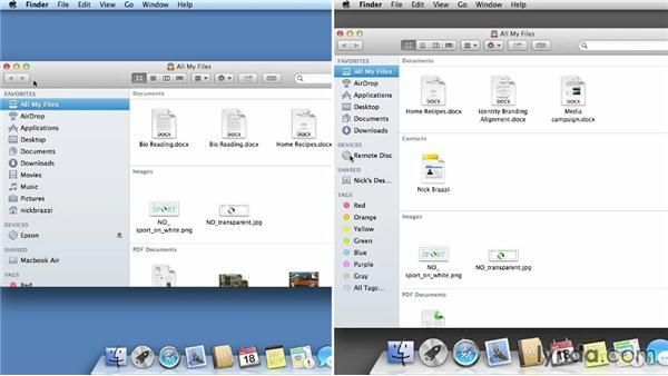 Remote Disc: Mac OS X Mavericks Essential Training