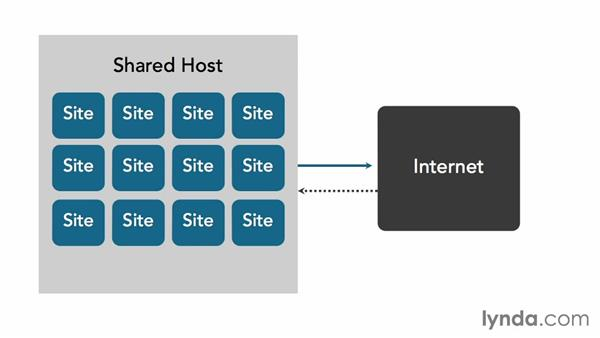 What is shared hosting?: Installing and Running WordPress: Shared Hosting
