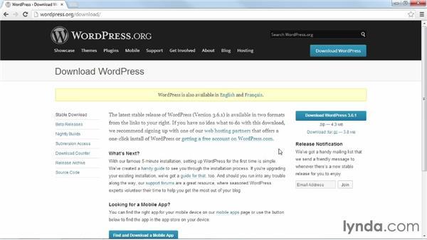 Getting WordPress: Installing and Running WordPress: Shared Hosting