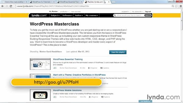 Next steps: Installing and Running WordPress: Shared Hosting