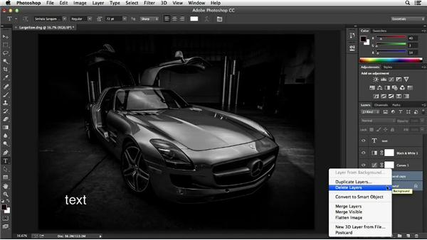 Using layers wisely: Photoshop Insider Training: Optimizing Photoshop's Performance
