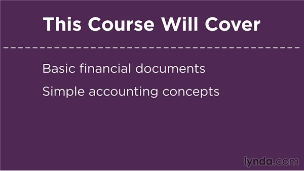 What this course will cover: Financial Literacy: Reading Financial Reports
