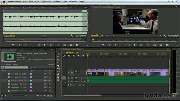 Using previews: Premiere Pro Guru: Outputs and Media Encoder