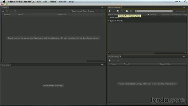 An introduction to automation: Premiere Pro Guru: Outputs and Media Encoder