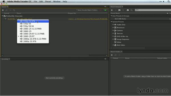 H.264 for Blu-ray: Premiere Pro Guru: Outputs and Media Encoder