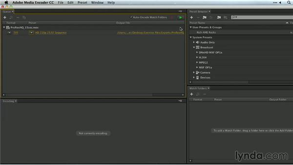 Creating image sequences: Premiere Pro Guru: Outputs and Media Encoder