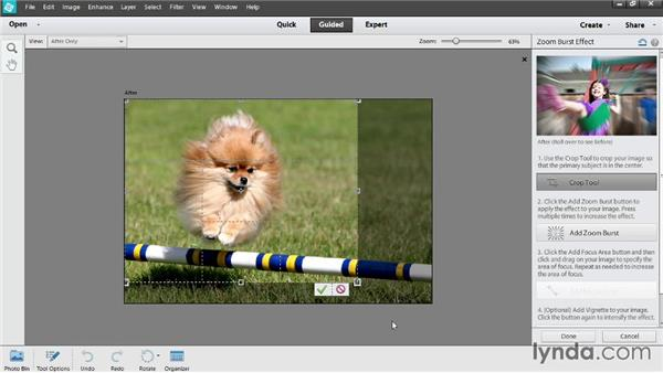 Adding special effects in Guided Edit: Photoshop Elements 12 Essential Training