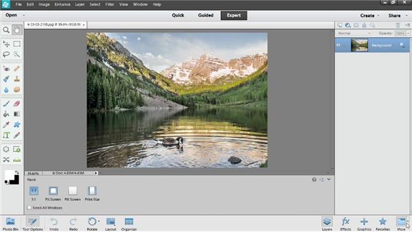 Customizing panels: Photoshop Elements 12 Essential Training