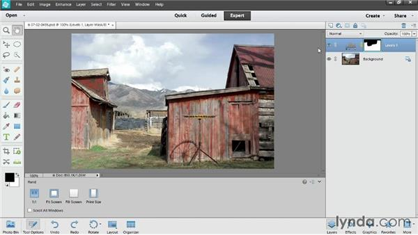 Why use adjustment layers to correct photos?: Photoshop Elements 12 Essential Training