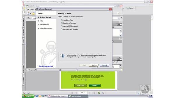 LiveCycle designer: Acrobat 7 New Features