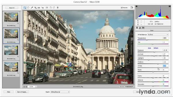 Synchronizing edits to multiple photos: Photoshop Elements 12 Essential Training