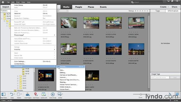Sorting photos in Media view: Photoshop Elements 12 Essential Training