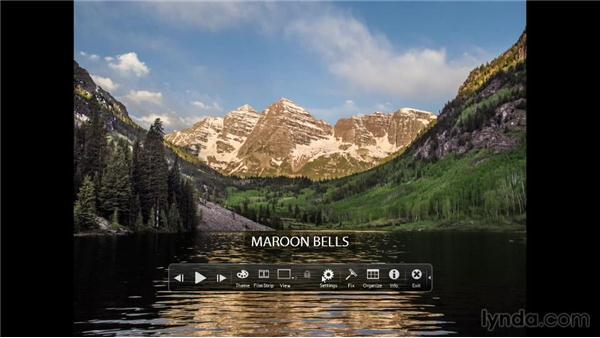 Making a full-screen slideshow: Photoshop Elements 12 Essential Training