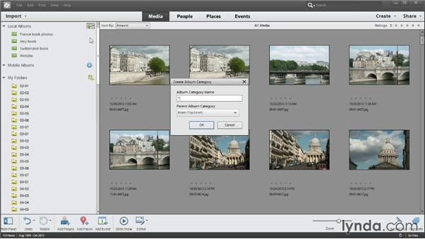 Organizing albums: Photoshop Elements 12 Essential Training