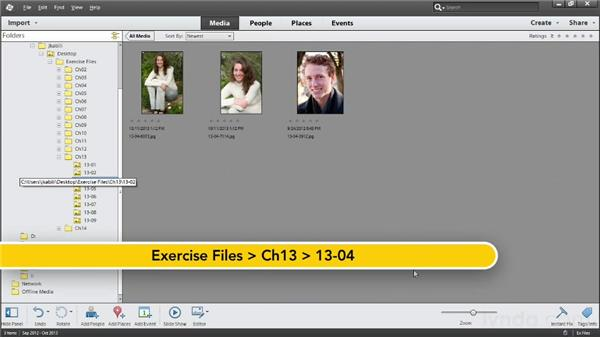 Working with People tags: Photoshop Elements 12 Essential Training