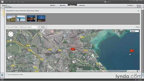 Adding location data to photos for mapping: Photoshop Elements 12 Essential Training