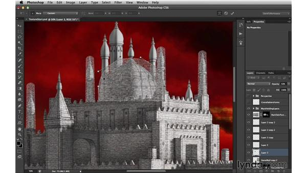 Rounded textures and the Warp tool: Digital Matte Painting Essentials 4: Texturing