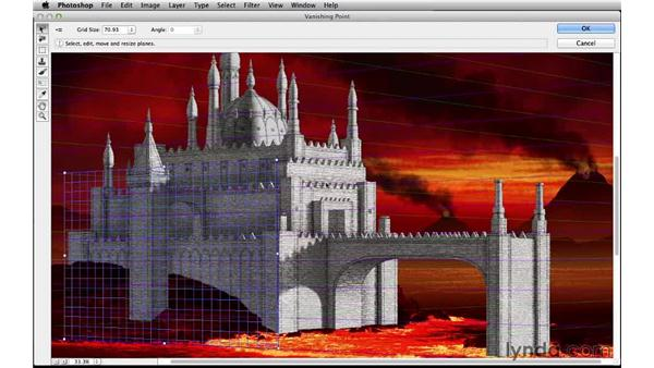 The Vanishing Point tool: Digital Matte Painting Essentials 4: Texturing