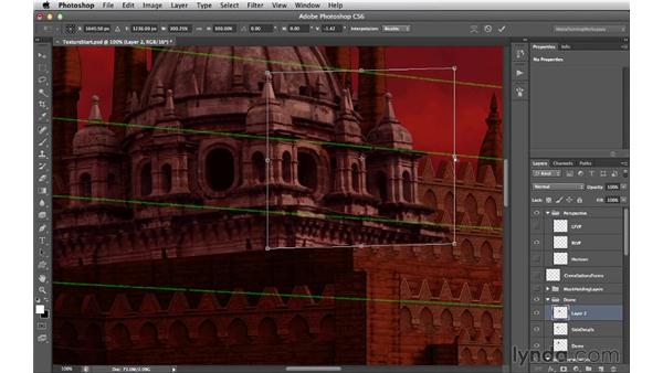 Distorting the dome and rectangular faces: Digital Matte Painting Essentials 4: Texturing