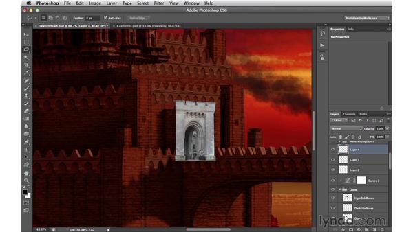 Adding more photographic details: Digital Matte Painting Essentials 4: Texturing