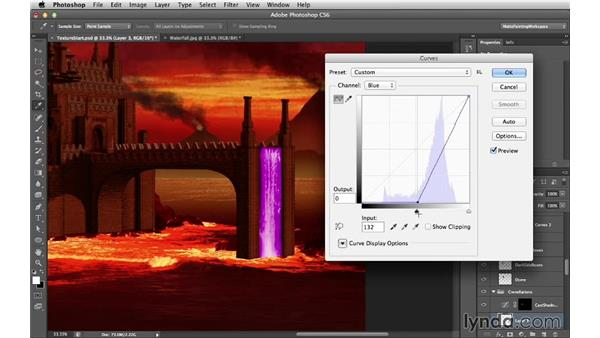 Extreme color correction: Digital Matte Painting Essentials 4: Texturing