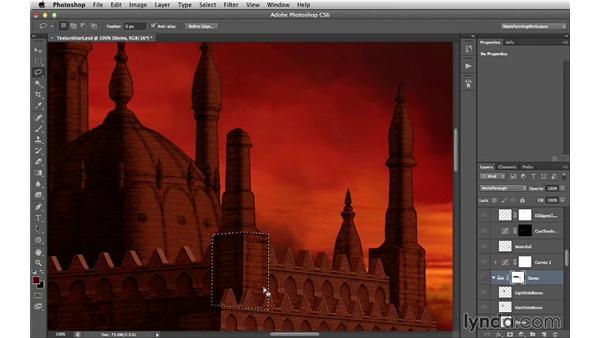 Integrating the details: Digital Matte Painting Essentials 4: Texturing