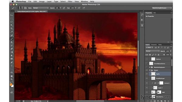 Lights and glows: Digital Matte Painting Essentials 4: Texturing