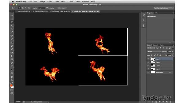 Smoke and flames: Digital Matte Painting Essentials 4: Texturing