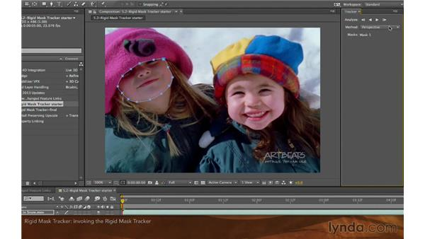 Rigid Mask Tracker: After Effects: Creative Cloud Updates